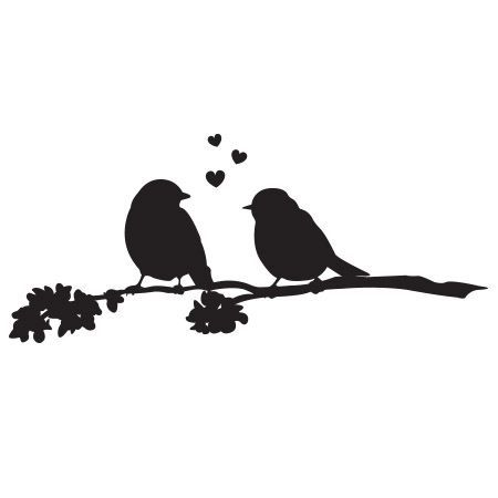Love Birds Clip Art Free Love Birds Kissing Silhouette Bird Stamp Love Birds Art