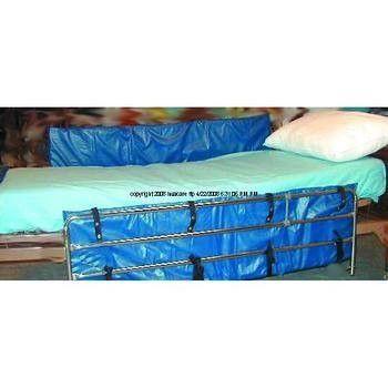 "Comfort Plus Bed Rail Pad - Full-Rail Size -58"" x 16"" x 1"" Pack of 2"