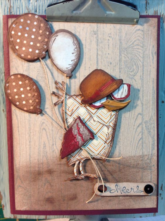 Tim Holtz - dp bird crazy