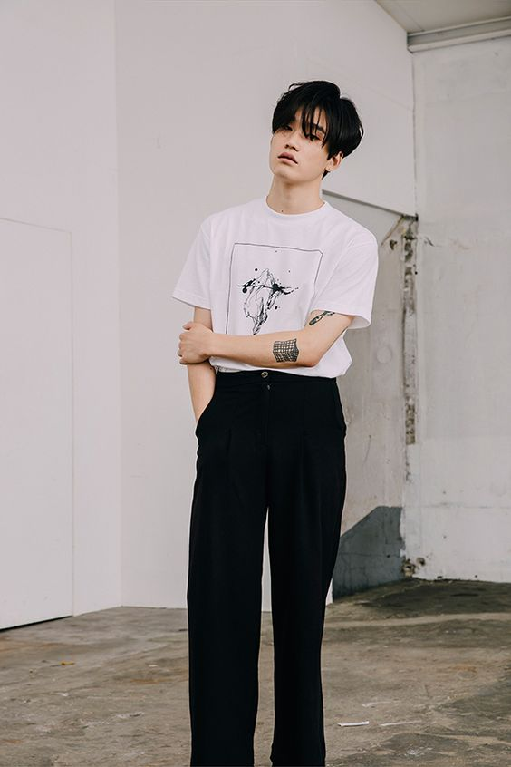 Korean Male Models Men Pinterest Models Posts And Pants