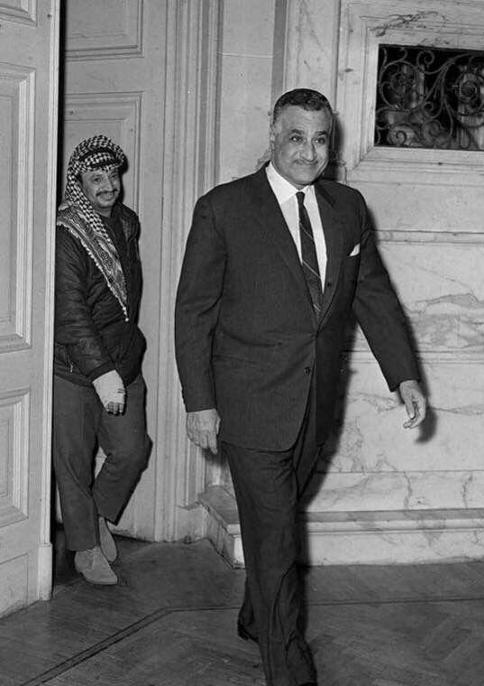 عبدالناصر مع عرفات Egyptian History Egypt History Old Egypt