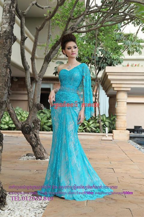 khmer dress for wedding party fashion model