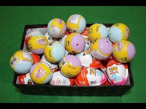 Kinderspielzeug كندر جوي و كندر سبرايز و بينجو سبرايز العاب أطفال بنات و أولاد العاب Easter Eggs Easter Billiard Balls