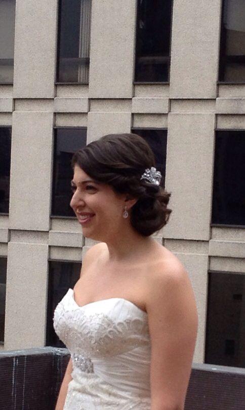 Bride. Love the hair