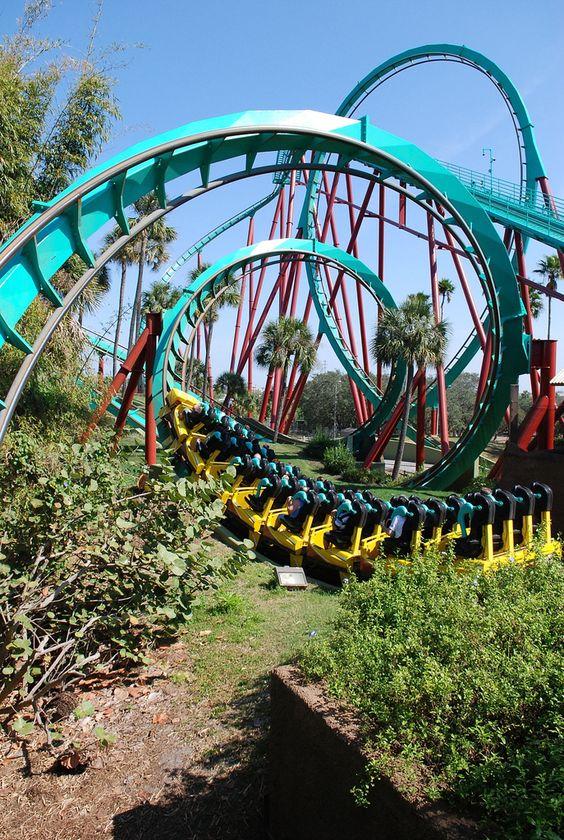 Kumba, Busch Gardens, Tampa Bay, FL