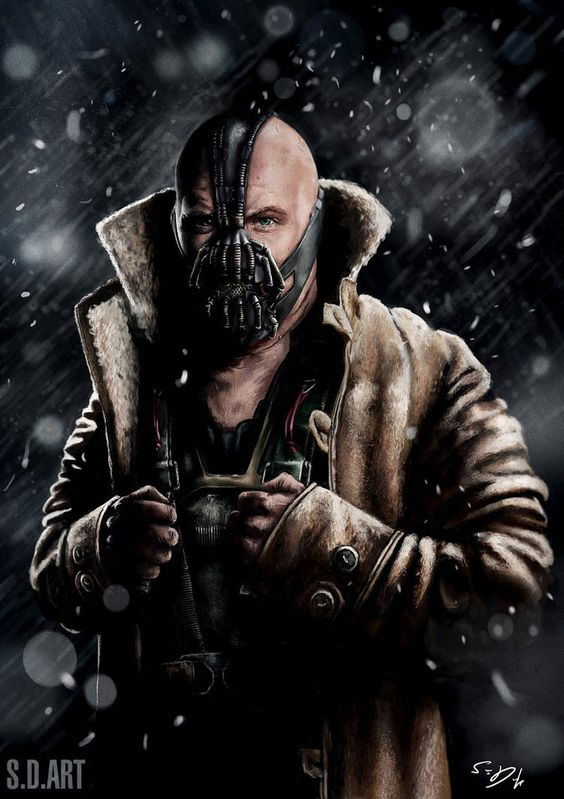 Bane by SamDenmarkArt on @DeviantArt