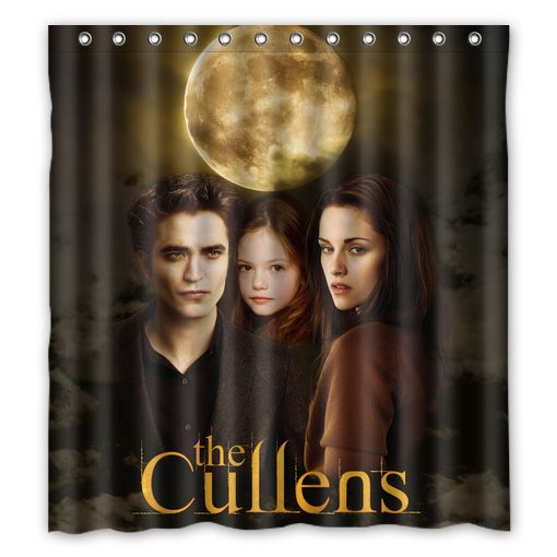 Twilight Edward Bella Renesmee Cullen Shower Curtain 001 Twilight Edward Edward Bella Twilight