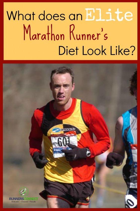 Nutritional strategies of a marathon runner