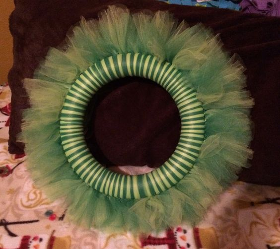 I made this wreath.
