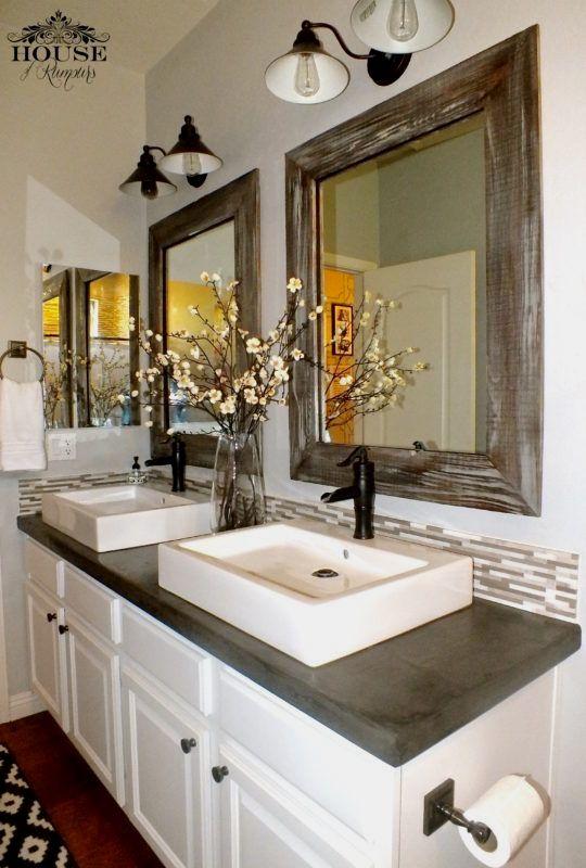 Diy Bathroom Countertop Ideas Countertops Concrete Countertops Bathroom Concrete Bathroom Bathroom Sink Diy