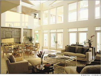 Stunning Decorating Large Windows Images - Amazing Interior Design ...