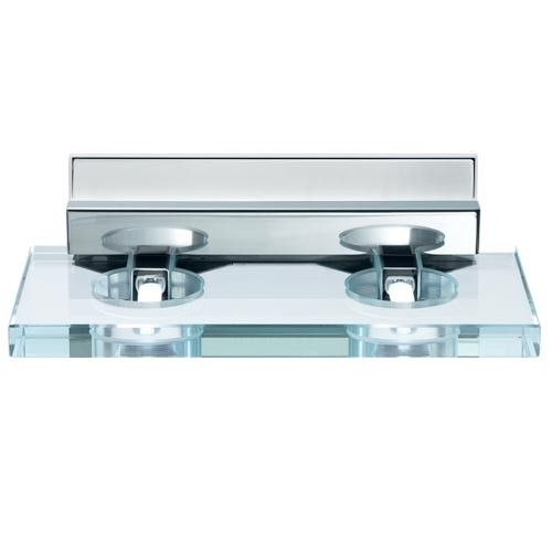 Vanity Light Junction Box Height : Sospesa - D42D07 Wall Light - Two Light Box Covers, Glass Lamps and Overalls