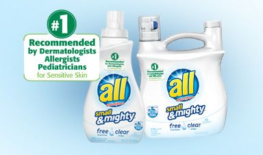 all concentrated detergent for sensitive skin