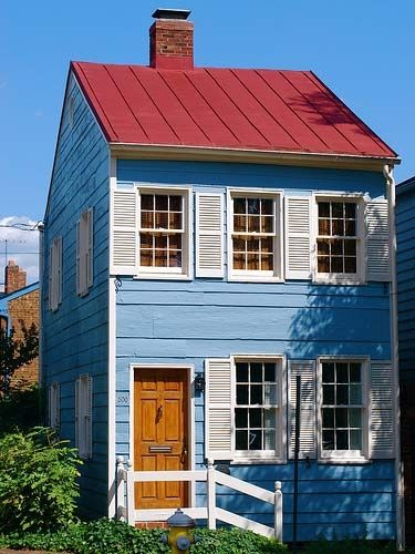 Best Wraparound White Shutters And Blue Houses On Pinterest 400 x 300