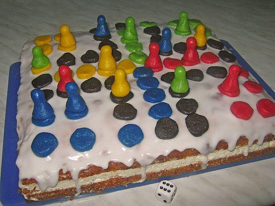 """""""Mensch ärgere dich nicht"""" - Torte"""