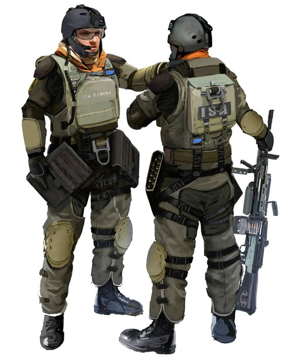 marine security guard duty