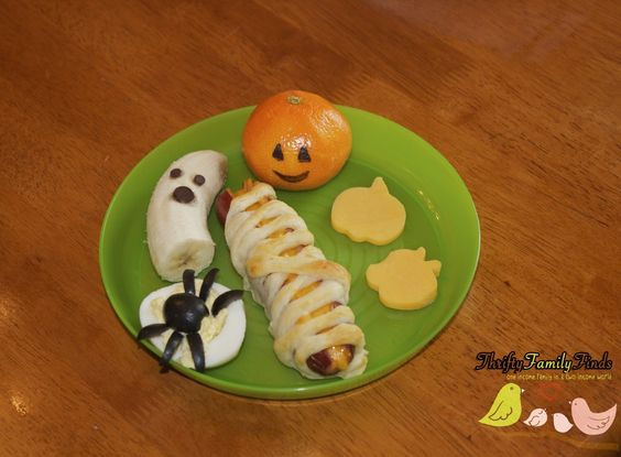 Pinterest Project: Healthy Halloween Snacks For Kids!  (And Adults, Too!)