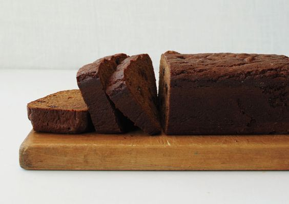 """Persimmon Bread. """"Use very soft, ripe, heart-shaped Hachiya persimmons rather than the smaller, firmer Fuyu variety. If you can't find Hachiyas, substitute 1 cup of canned pumpkin. Stir any leftover purée into yogurt for a sweet breakfast.""""  from bonappetit.com/recipes"""