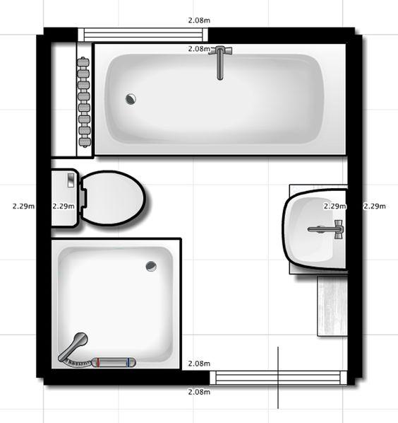 Renovatie kleine badkamer opdracht op Klus Vakman > douche/wc & wasbak spiegelen