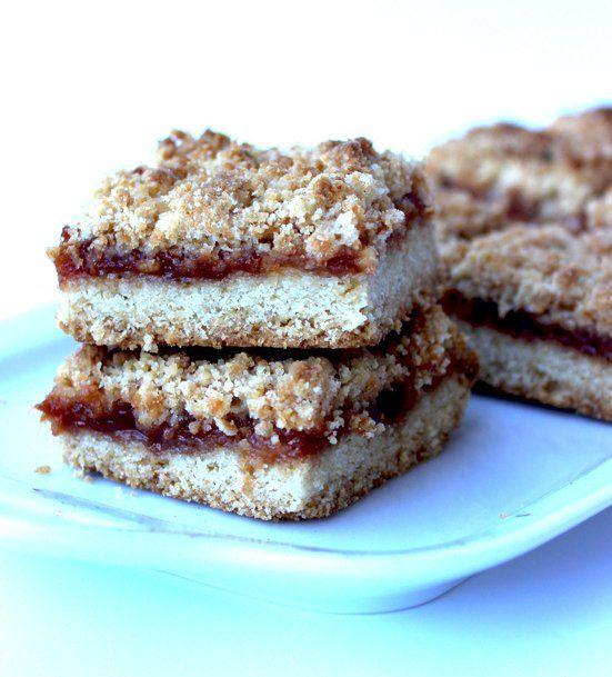 Recipe for Apricot Crumb Bars