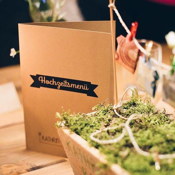 Unsere Papeterie im Einsatz auf der Hochzeit von Kathrin&Bastian 💞