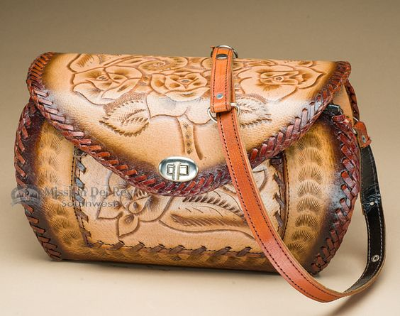Mission Del Rey Southwest - Western Hand Tooled Leather Purse (48), $79.95 (http://www.missiondelrey.com/western-hand-tooled-leather-purse-48/)