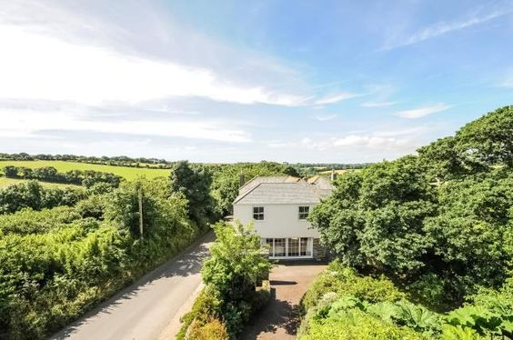 Detached house for sale in Maenporth, Falmouth, Cornwall