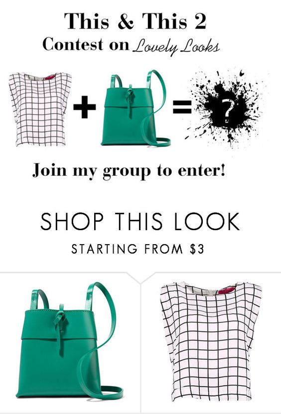 """""""This & This Contest 2"""" by nillabinx ❤ liked on Polyvore featuring Kara"""