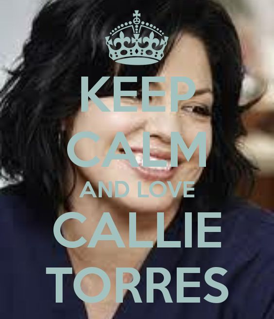 My spirit animal is Callie Torres & my role model is Sara Ramirez.