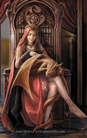My favorite - by Anne Stokes