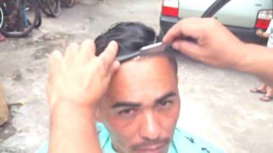 Corte cabelos.., Undercut Masculinos - Curso Passo A Passo