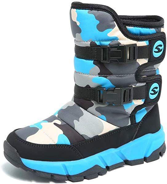 GUBARUN Boys Snow Boots Winter