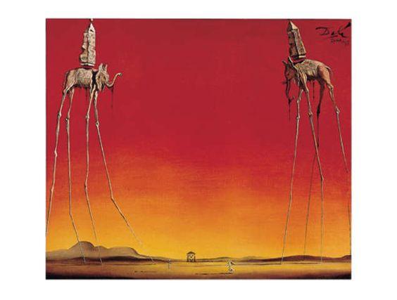 Salvador Dalí - Les éléphants