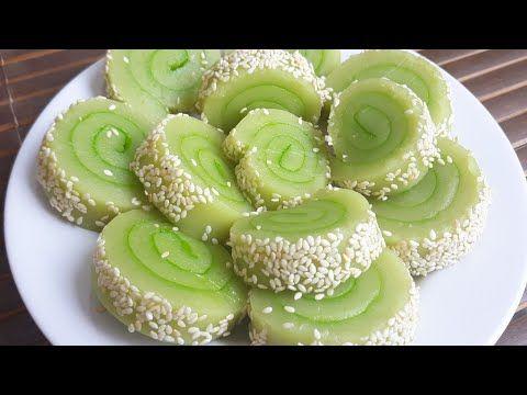 Cara Membuat Kue Mochi Gulung Resep Kue Mochi Gulung Pandan Youtube Soft Bread Recipe Asian Desserts Cake Recipes