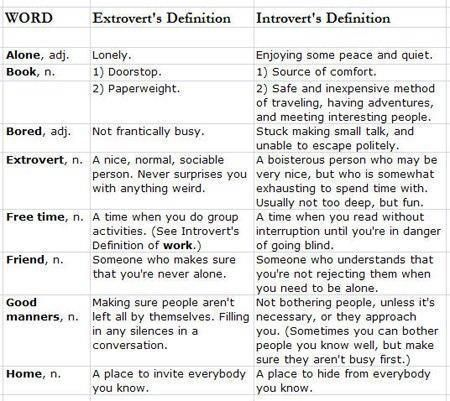 Introvert or Extrovert? (I'm bi.... ;)