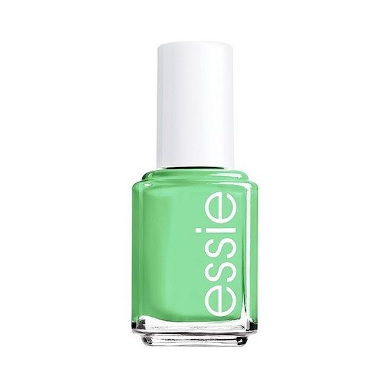 essie Nail Color - Mojito Madness (12 AUD) ❤ liked on Polyvore featuring beauty products, nail care, nail polish, essie, essie nail color, formaldehyde free nail polish and essie nail polish