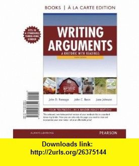 Writing arguments 9th edition pdf
