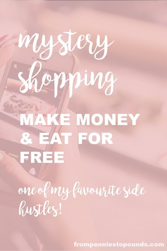 If you want to save money and make money, one of the best ways that you can do that is to do mystery shopping! You can get your meals for free, + a fee. Not just food either, check out the article for more. http://www.frompenniestopounds.com/mystery-shopping-eat-free-make-money/