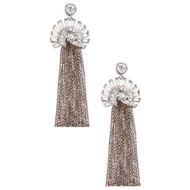 Chloe + Isabel Deco Fringe Earrings   @chloeandisabel #jewelry #klout #Kloutperks