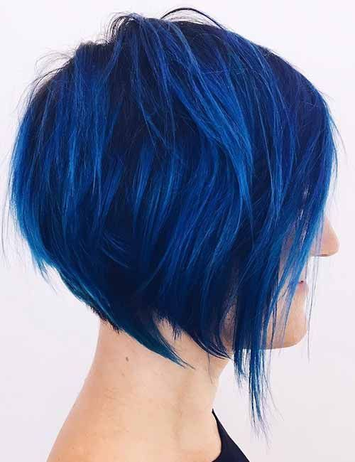 36++ Blue bob hairstyles info