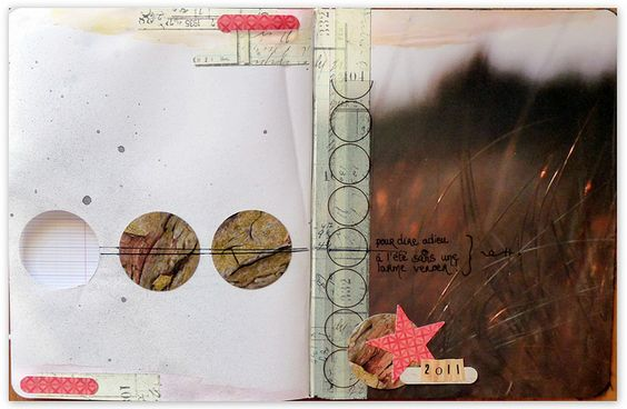 art journal by Stéphanie Leschiera http://www.flickr.com/photos/lebazardestef/sets/72157627734597338/with/6184265381/