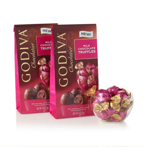 Chocolate of the Month – 6 Months - Wrapped Milk Chocolate Truffles (Set of 2).
