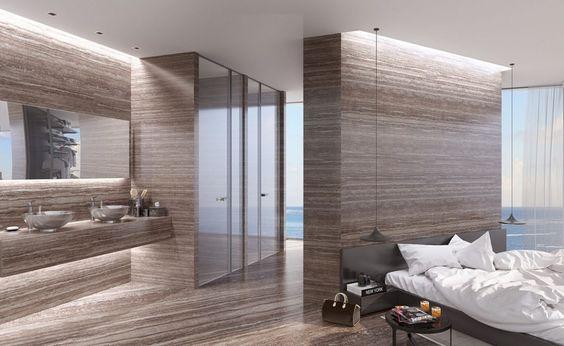 Breathtaking Luxury Resort Villas Located in the Aegean Sea - Plinthe Salle De Bain