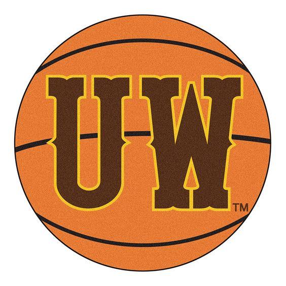 Wyoming Cowboys NCAA Basketball Round Floor Mat (29)