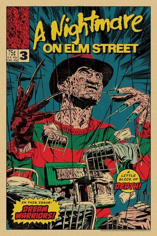 A Nightmare On Elm Street 3 Dream Warriors Johnny Dombrowski
