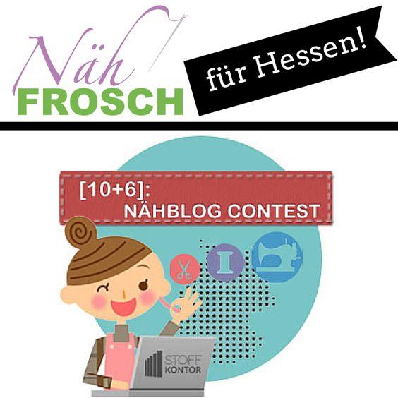 Nähblog Contest 2014 Nähfrosch tritt für Hessen an! Gesucht wird der schönste Nähblog Deutschlands.