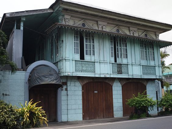 Early 20th century Filipino House, via Flickr.