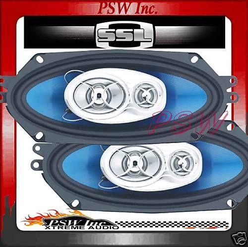 SOUNDSTORM 4X10 SPEAKERs SSl FORCE 400 Watt , 3-WAY #F341
