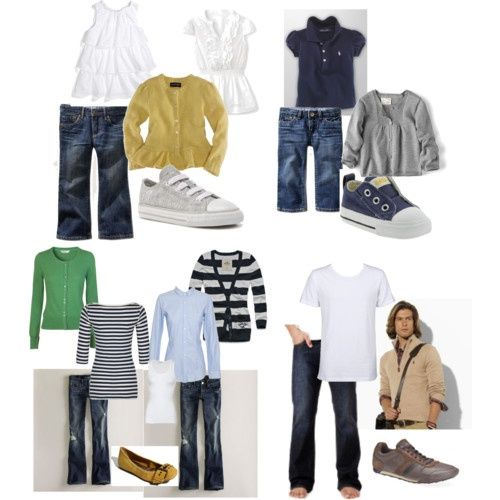 Possible Family picture outfits...any suggestions??