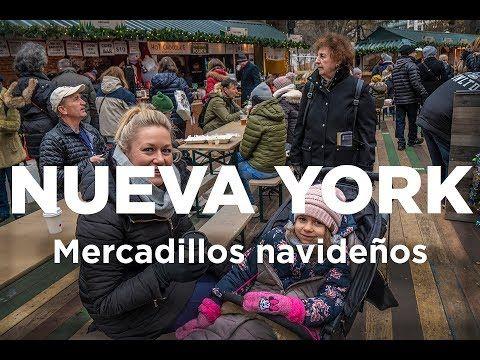 Mercadillos Navideños En Nueva York Youtube Mercados Navideños Nueva York Navideño